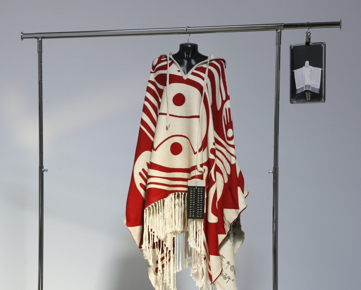 Red, Black, Silver, and White, installation view