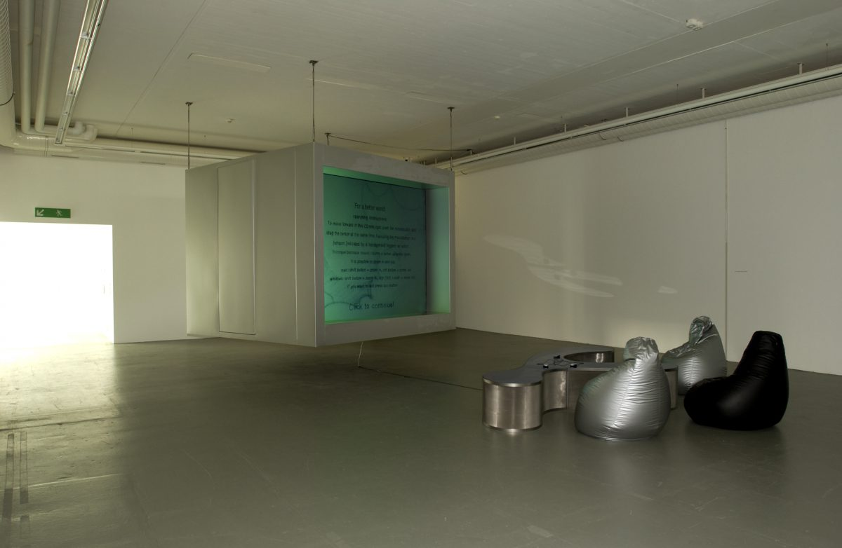 For A Better World, installation view