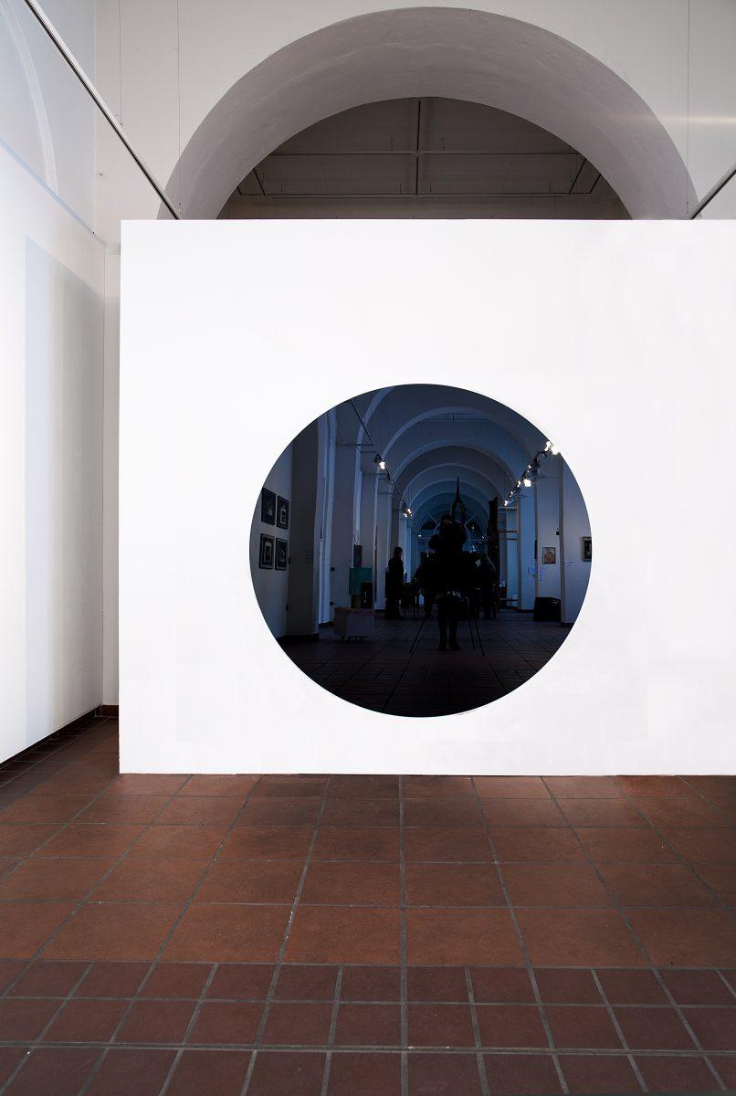 Black Hole, Wandarbeit, Galerie im Körnerpark