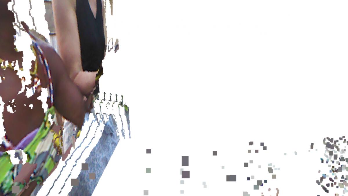 Videostill of Kinect Kamera