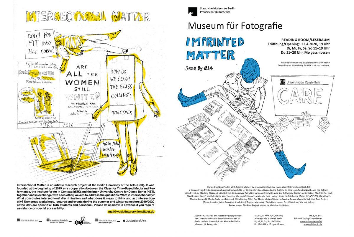 Posters vom Forschungsprojekt