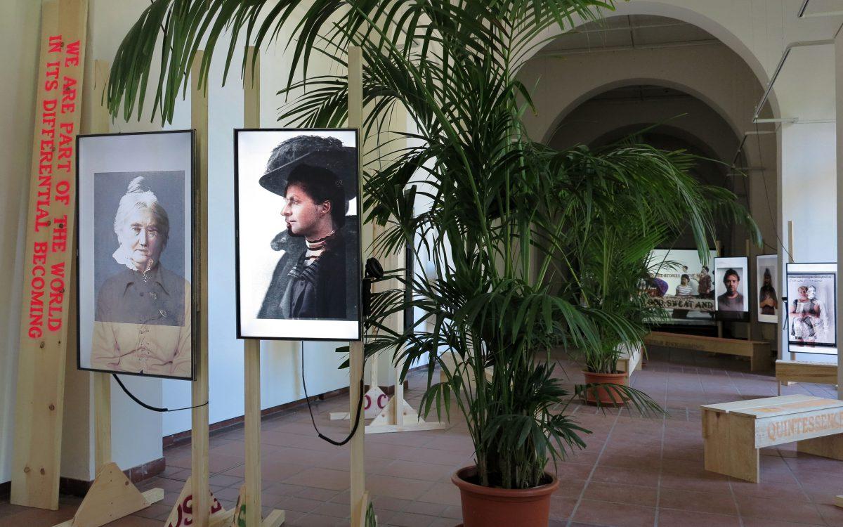 Installationsansicht, Körnerpark Gallery