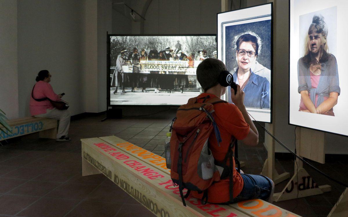 Ausstellungsansicht, Galerie im Körnerpark