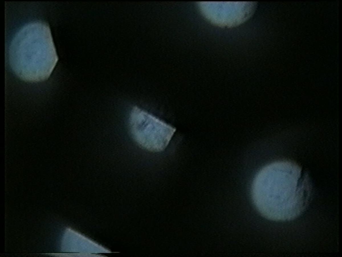 Aufnahme mit analoge Kamera mit Verzerrungslinse